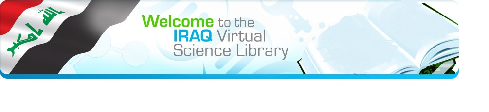 Welcome to the IRAQ Virtual Science library
